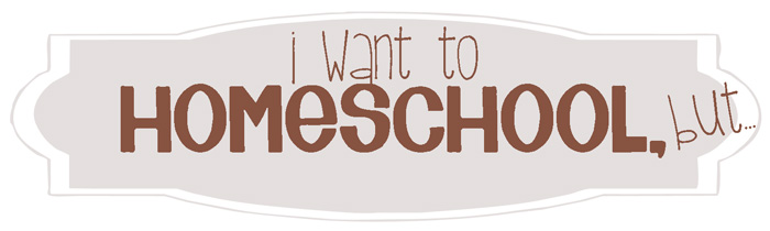 :: I WANT TO HOMESCHOOL, but...I Can't Afford It::  A new series at Cheeky Bums Blog 