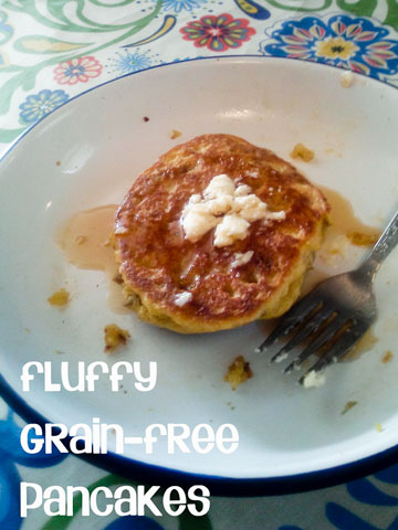 Fluffy Grain Free Pancakes :: Cheeky Bums Blog